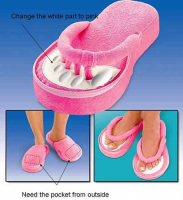 Memory Foam Pedicure Slipper